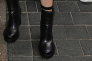 Ellie Goulding Motorcycle Boots