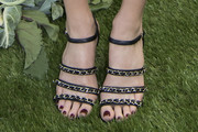 Margot Robbie Strappy Sandals