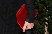 Lauren Santo Domingo Velvet Clutch
