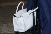 Jessica Alba Leather Tote