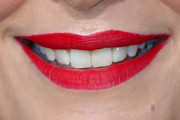 Molly Sims Red Lipstick