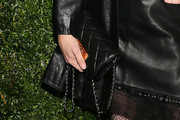 Chloe Sevigny Quilted Leather Bag