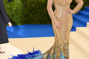 Blake Lively Mermaid Gown