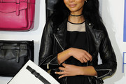 Chanel Iman Leather Jacket