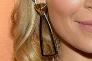 Nicole Richie Gold Dangle Earrings
