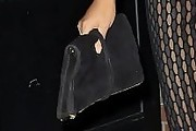 Chrissy Teigen Suede Clutch