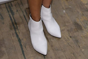 Brooke Shields Ankle Boots