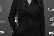 Laura Prepon Wool Coat