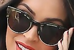 Megan Fox Cateye Sunglasses