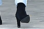 Kourtney Kardashian Ankle Boots