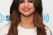 Selena Gomez Long Wavy Cut