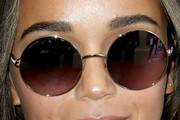 Ashley Madekwe Round Sunglasses