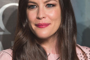 Liv Tyler Long Side Part