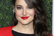Shailene Woodley Long Wavy Cut