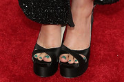 Rose Byrne Platform Sandals