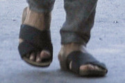 Halle Berry Slide Sandals
