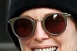 Julianne Moore Round Sunglasses