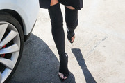 Chrissy Teigen Over the Knee Boots