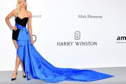 Jessica Hart Strapless Dress