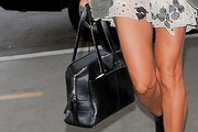Heidi Klum Leather Tote