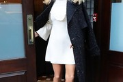 Christie Brinkley Trenchcoat