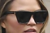 Chrissy Teigen Square Sunglasses
