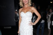 Joanna Krupa Strapless Dress