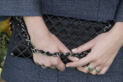 Margot Robbie Quilted Purse