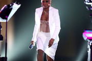 Mary J. Blige Skirt Suit