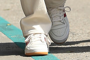 Kendall Jenner Leather Sneakers