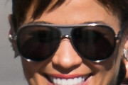 Paula Patton Aviator Sunglasses