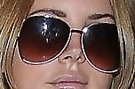 Lana Del Rey Oversized Sunglasses