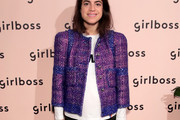 Leandra Medine Tweed Jacket