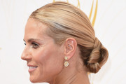 Heidi Klum Twisted Bun